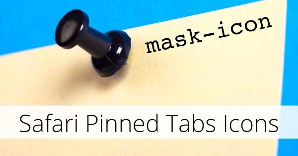 Adding a Pinned Tab icon for Safari